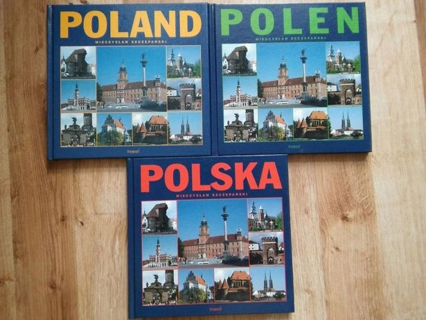 Przewodnik po Polsce Polska Poland Polen Mieczysław Szczepański
