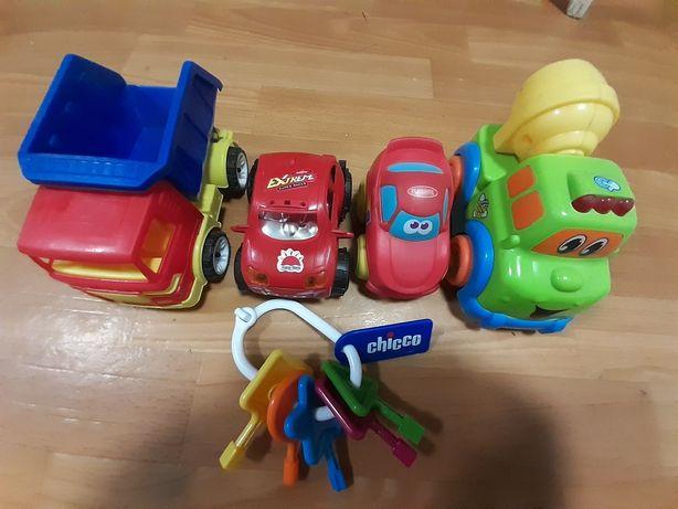 Пластиковые машинки для мальчика