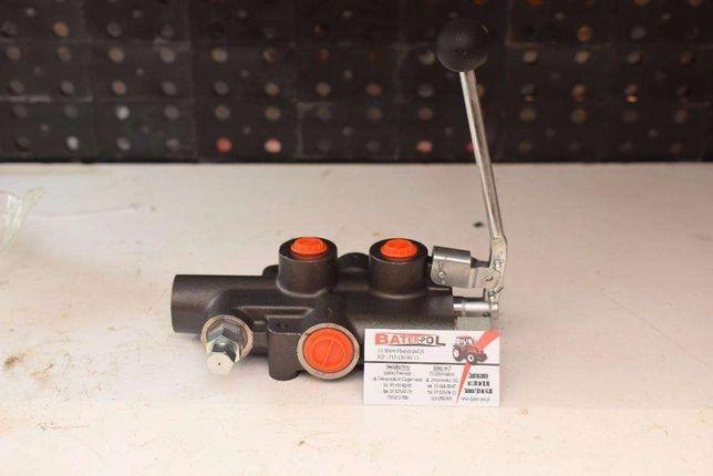 Rozdzielacz hydrauliczny 80l/min do łuparki z zatrzaskiem i autom. cof