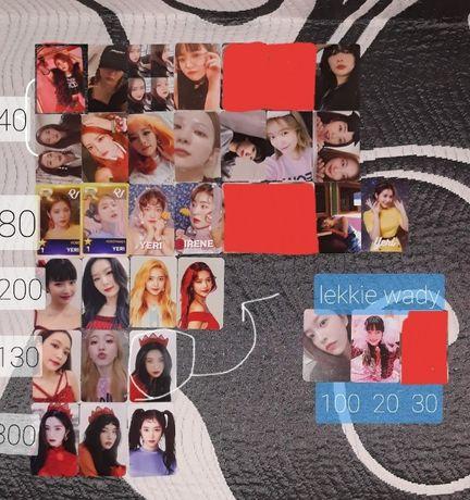 red velvet photocard karta kpop album karty ORYGINALNE WSZYSTKO