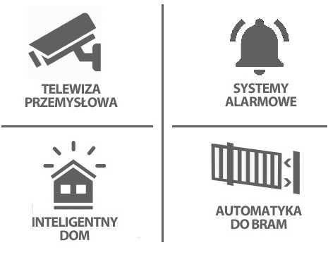 5. Monitoring, Kamery, Alarm, Automatyka bram HIKVISION / SATEL / FAAC