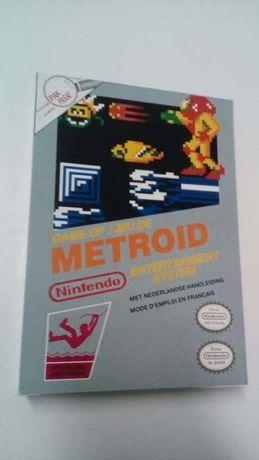 Caixa Metroid Nintendo NES