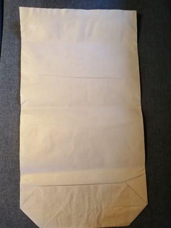 Worki papierowe 3/50x90x16 - szare