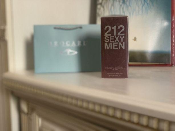 Теплый аромат - 30% Духи мужские Carolina Herrera 212 Sexy Men