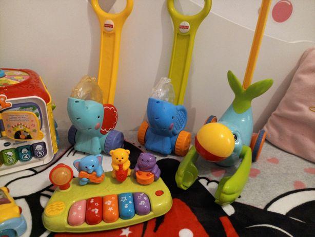 Zabawki grające świecące