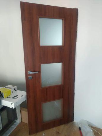 Drzwi pokojowe i łazienkowe 3szt
