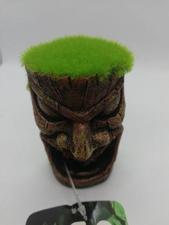 Dekoracja akwarystyczna KIPOUSS totem TETE- z nasionami żywych roślin