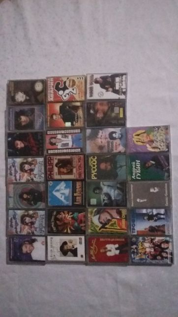 аудио кассеты с записью