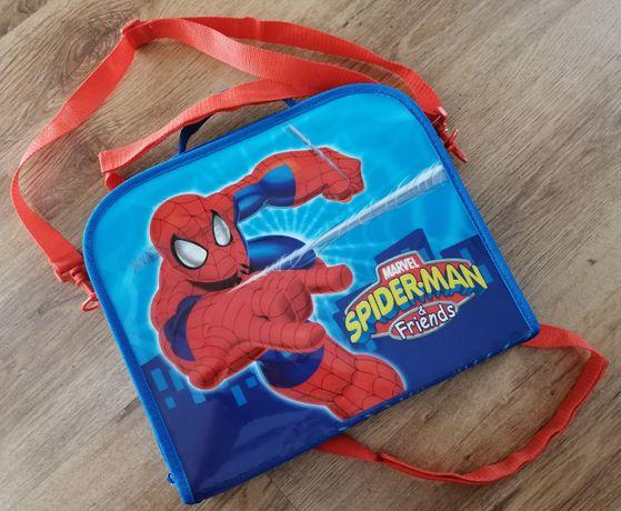 Spider Man teczka do noszenia i do zawieszenia za oparciem w aucie