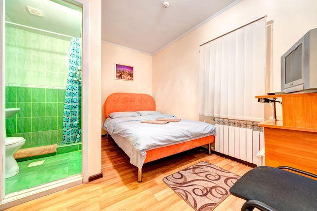 Комнаты посуточно (санузел в комнате) кухня. Нивки, Сырец, Виноградар