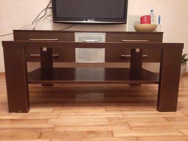 Solidny ciężki stolik kawowy 110cmX70cm