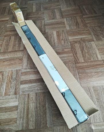 noga od stołu UTBY Ikea, nowa, 105 cm, stal nierdz.