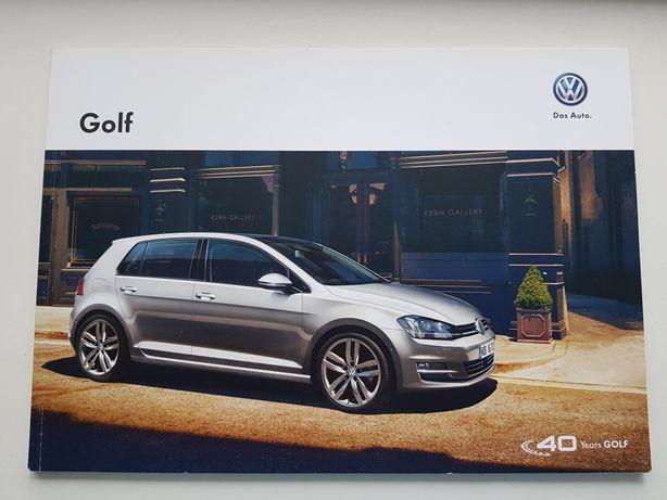 Рекламный каталог журнал Volkswagen Golf 7