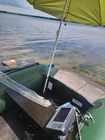 Продам комплект лодка , мотор ,эхолот