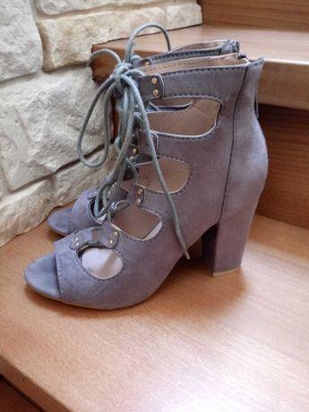Buty szare w idealnym stanie