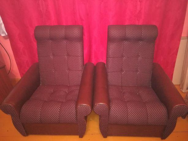 Fotele 2 szt. Stan bardzo dobry