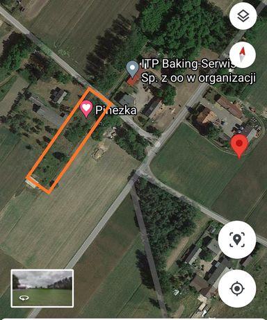 Działka 30 km od centrum Łodzi