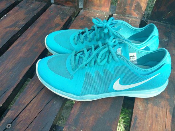 Nike Dual Fusion TR3 niebieskie błękitne 38.5