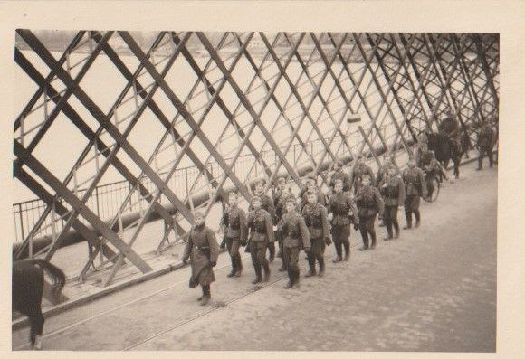 Stare zdjęcia Warszawa Wehrmacht most 1939