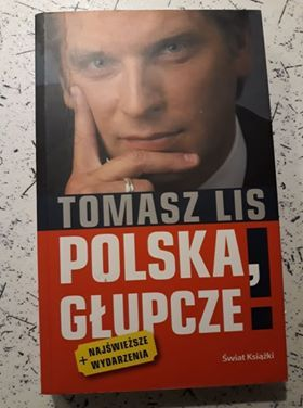 Książka Tomasz Lis Polska Głupcze