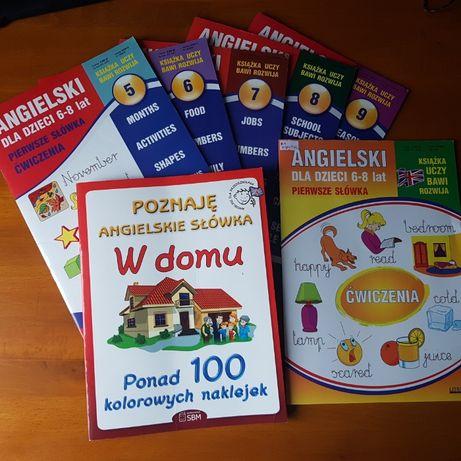6 Książek do angielskiego dla dzieci 6-8lat + 1 gratis