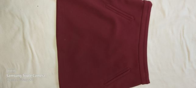 Spódnica bordo New Look  rozm 38