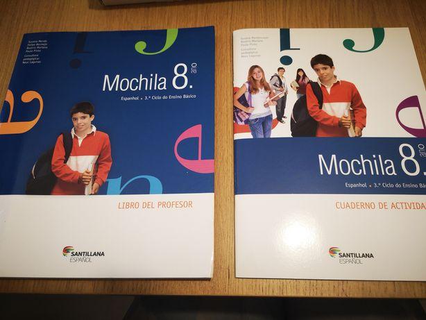 Mochila 8 - manual, caderno de atividades e recursos do professor