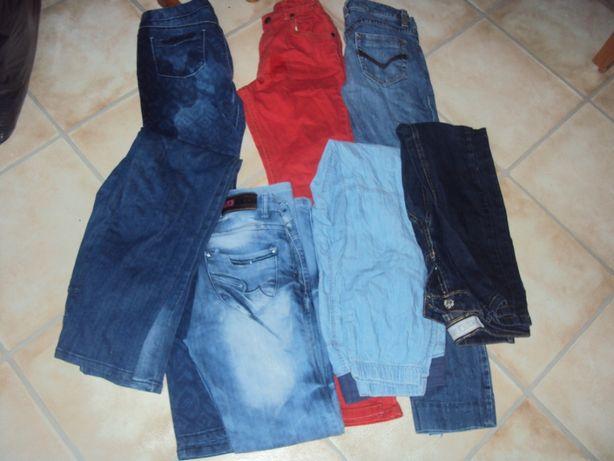 Spodnie dziewczęce 158 dżinsy esprit cropp i inne paka 50 zł 7 sztuk