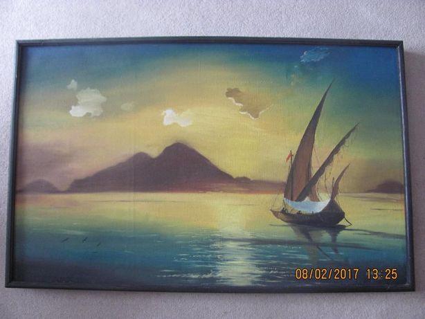 Obraz olejny 102 cm / 62 cm