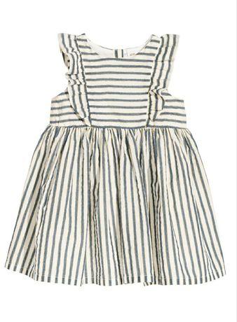 Платье H&M хлопковое пышное нарядное 18-24мес (1,5-2года) 86-92