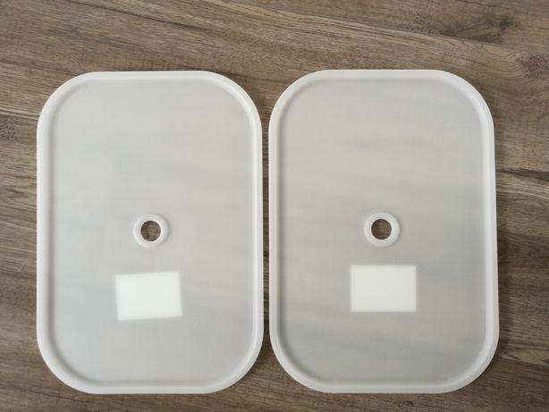 Trofast-  2 białe pokrywki do pojemników NOWE