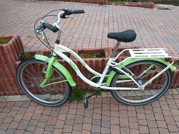 Holenderski rower dla dziewczynki.