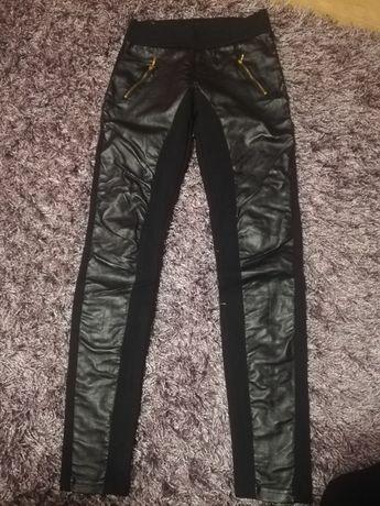 Sprzedam legginsy dziewczece rozmiar 152 - 158