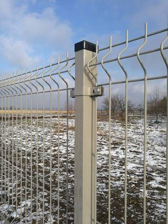 Ogrodzenie panelowe, Panele ogrodzeniowe, Podmurówka, Siatka, MONTAŻ