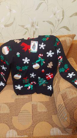 Продом новогодний свитер
