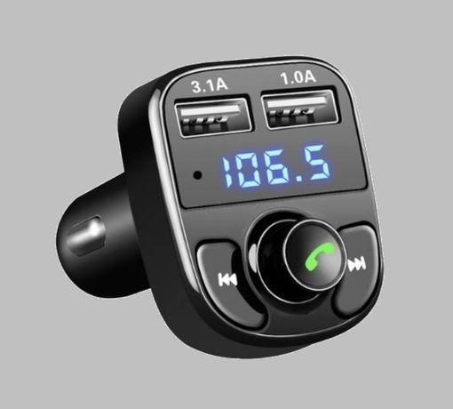 NOWY Transmiter bluetooth MP3 2xUSB