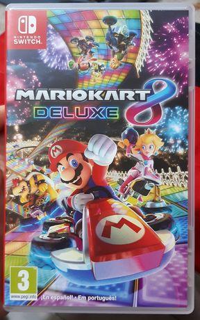 Nintendo switch - mario kart 8 deluxe (troco por animal crossing)