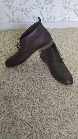 Мужские ботинки кожа 44 размер