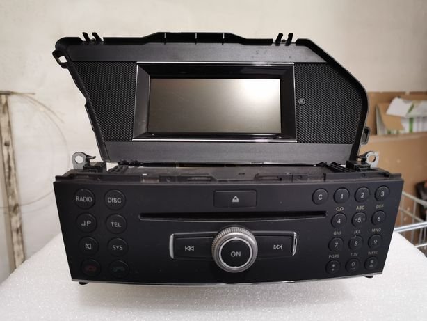 Rádio e display Mercedes GLK x204 204