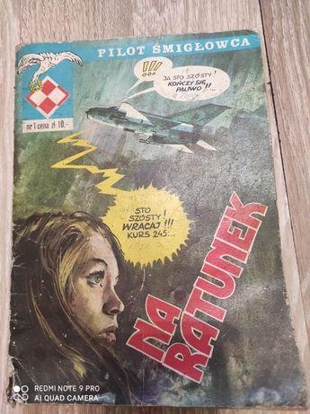 Komiks Pilot Śmigłowca - Na Ratunek - Nr 1