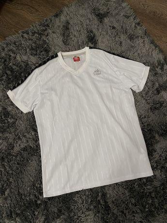 Tshirt koszulka kappa z taśmami