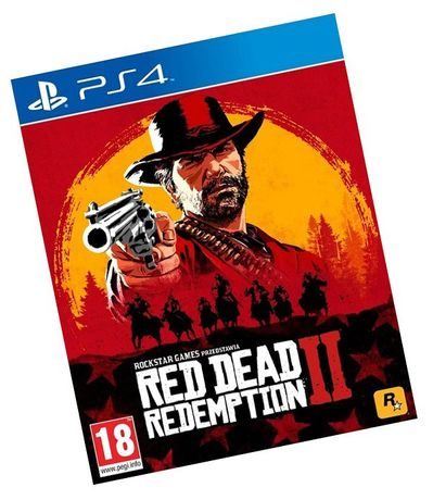 Red Dead Redemption 2 PL PS4 gra Nowa * Video-Play Wejherowo