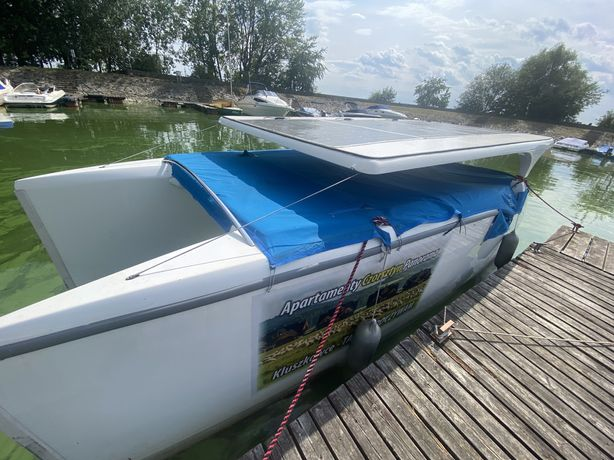Katamaran elektryczny /solarny SOLLINER Geeen dream boats