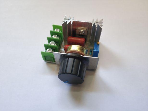 Potenciómetro 220v - controlador de velocidade e intensidade