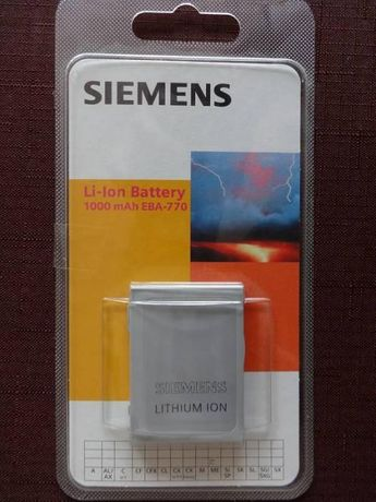Bateria Siemens Li-Ion, 1000 mAh EBA-770