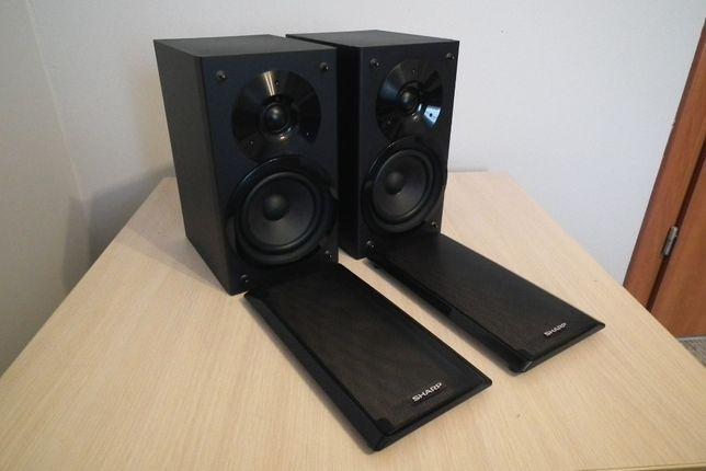 Kolumny głośnikowe SHARP CP-HF200H 50/100W 26cm super stan i brzmienie