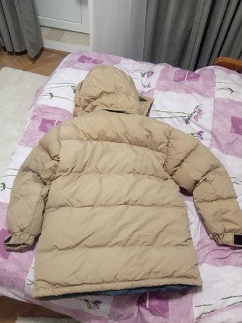 Чоловіча натуральна пухова шведська зимня куртка