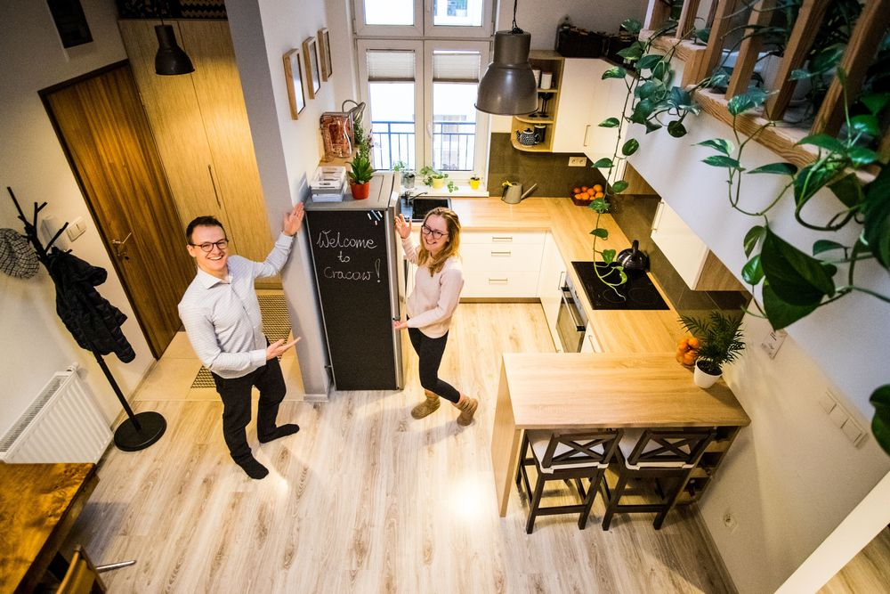 43 sq meters apartment in Podgórze for temporary rent/Erasmus Kraków - image 1