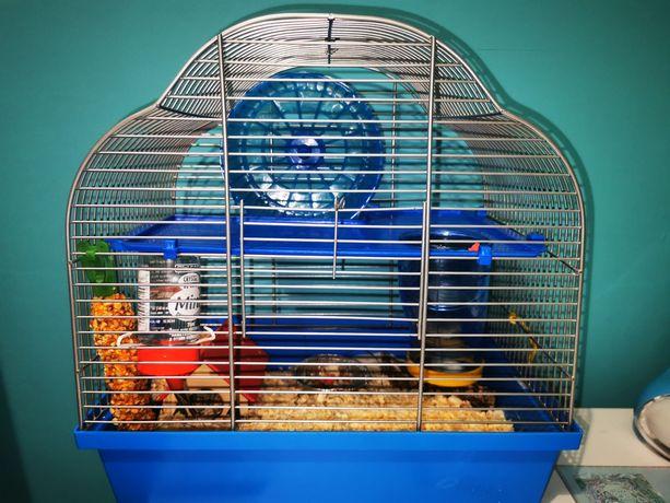 Klatka dla chomika myszki
