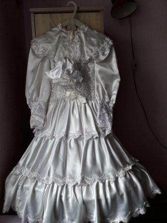 sukienka z I komunii św. na 134